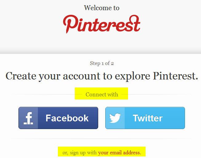 Pinterest Setup